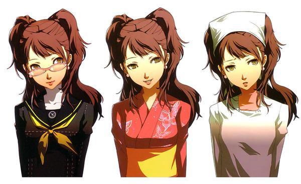 Mulai Dari Urutan Ke Sepuluh Ada Rise Kujikawa Perwakilan Serial Anime Persona 4 The Animation Karakter Ini Punya Wajah Yang Imut